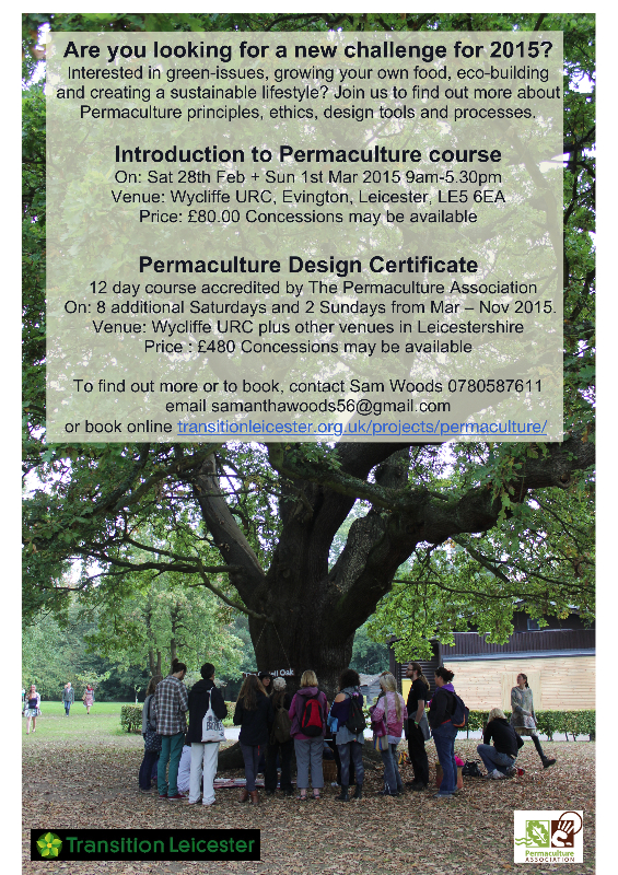 permaculture Flyer 2015